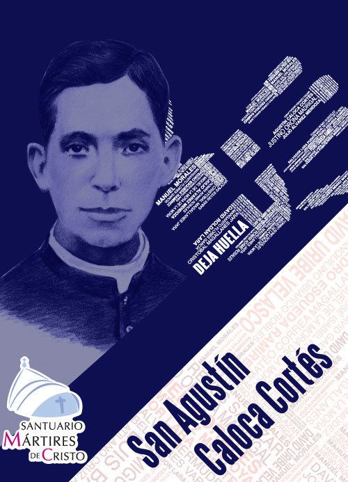 Agustín Caloca Cortés San Agustn Caloca Corts deja huella