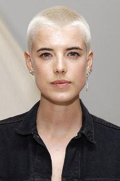 Agyness Deyn Agyness Deyn on Pinterest Short Hair Trendy Haircuts