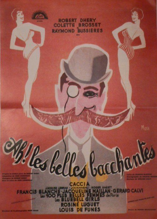 Ah! Les belles bacchantes Ah Les Belles Bacchantes Louis de Funs