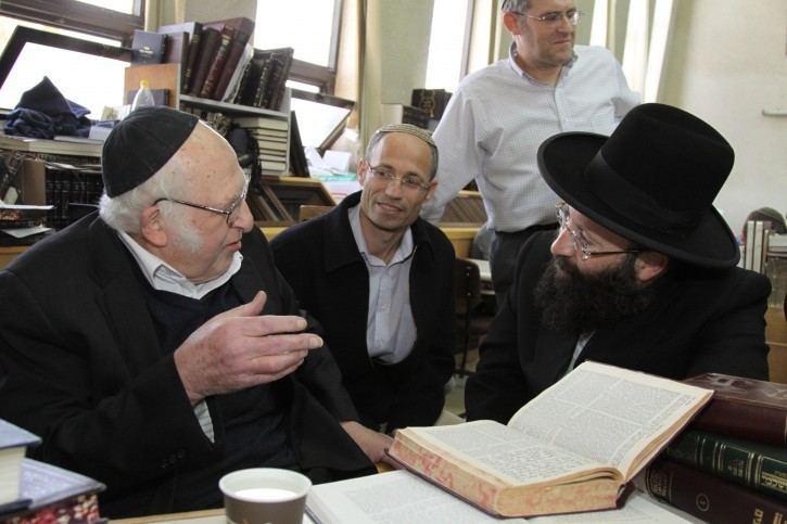 Aharon Lichtenstein Jerusalem Rabbi Aharon Lichtenstein Modern Orthodox
