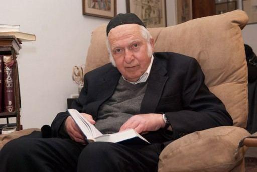Aharon Lichtenstein Jerusalem In Lecture Series Rav Aharon Lichtenstein