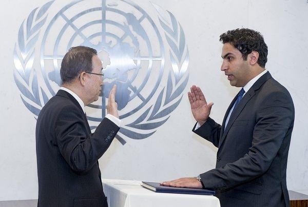 Ahmad Alhendawi Meet the Envoy Office of the SecretaryGeneral39s Envoy