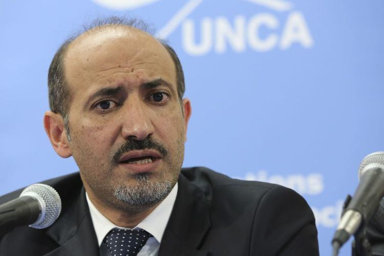 Ahmad Jarba Syrian opposition sets preconditions for Geneva talks