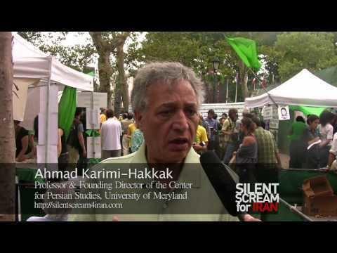Ahmad Karimi-Hakkak Dr Ahmad Karimi Hakkak on green movement in Iran Hunger