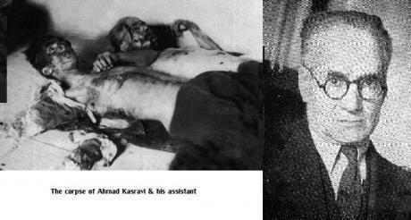 Ahmad Kasravi Ahmad Kasravi ExShia An unsheathed sword against
