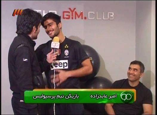 Ahmad Reza Abedzadeh Ahmad reza Abedzadeh amp his son Amir Persepolis