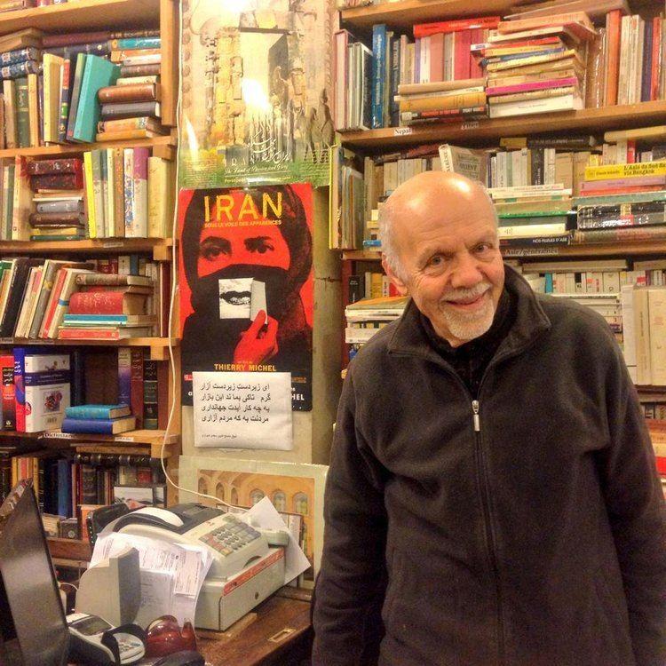Ahmad Salamatian Paris former iran member of parliament ahmad salamatian at his