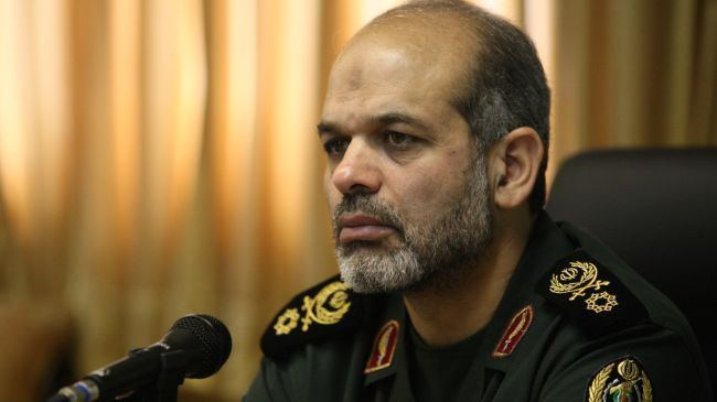 Ahmad Vahidi Iran well developing own air defense missile system