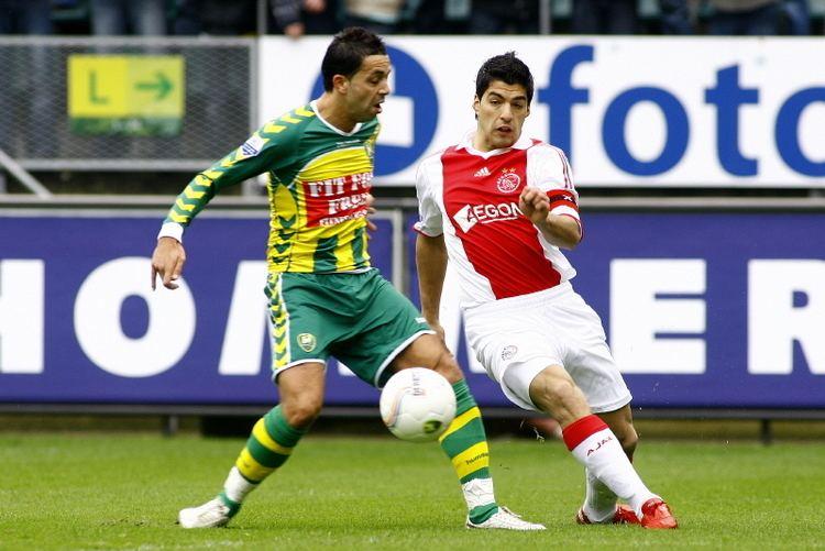 Ahmed Ammi ADO Ajax Ahmed Ammi en Luis Suarez