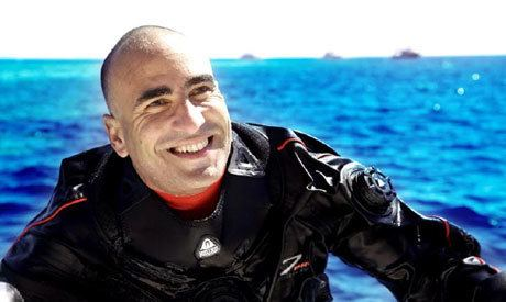 Ahmed Gabr Egypt recordbreaking diver How did he go down the