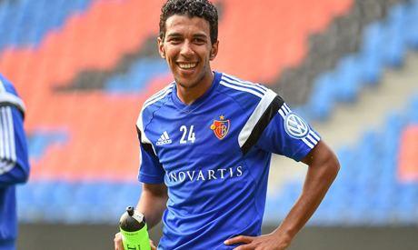 Ahmed Hamoudi Basel part ways with Egypts forward Hamoudi Talents Abroad