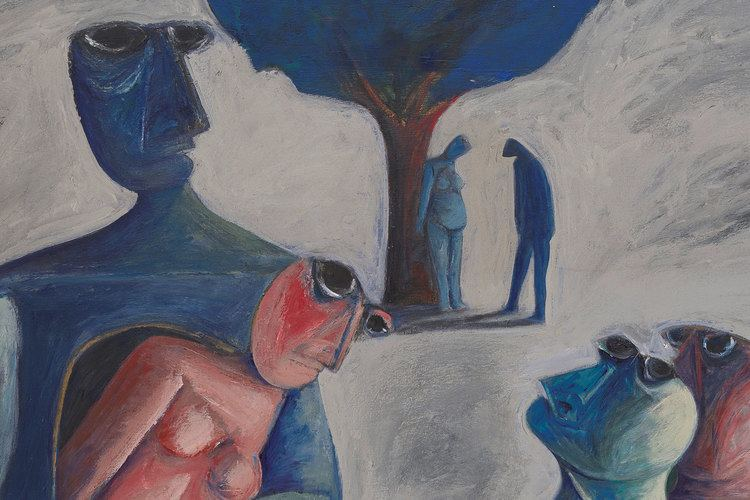 Ahmed Morsi Looking at the World Around You Contemporary Works from Qatar