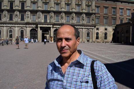 Ahmed Rami (writer) Mte med Ahmed Rami Nordfrontse