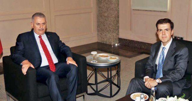 Ahmet Mücahid Ören Yldrm ile Ahmet Mcahid ren bir araya geldi