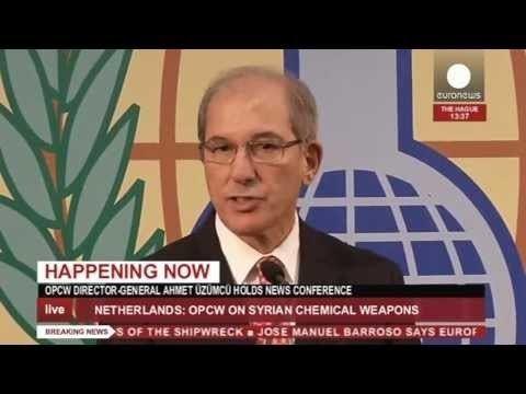 Ahmet Uzumcu Ahmet zmc OPCW Int39l mission to rid Syria of