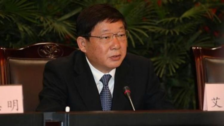 Ai Baojun Under investigation Shanghai vicemayor Ai Baojun becomes citys
