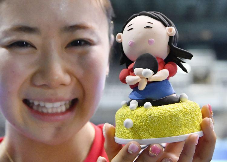 Ai Fukuhara Table tennis star Fukuhara warms Chinese hearts at Olympics The
