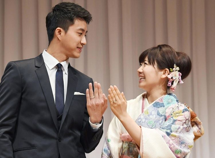 Ai Fukuhara Table tennis star Fukuhara announces marriage to Taiwanese player
