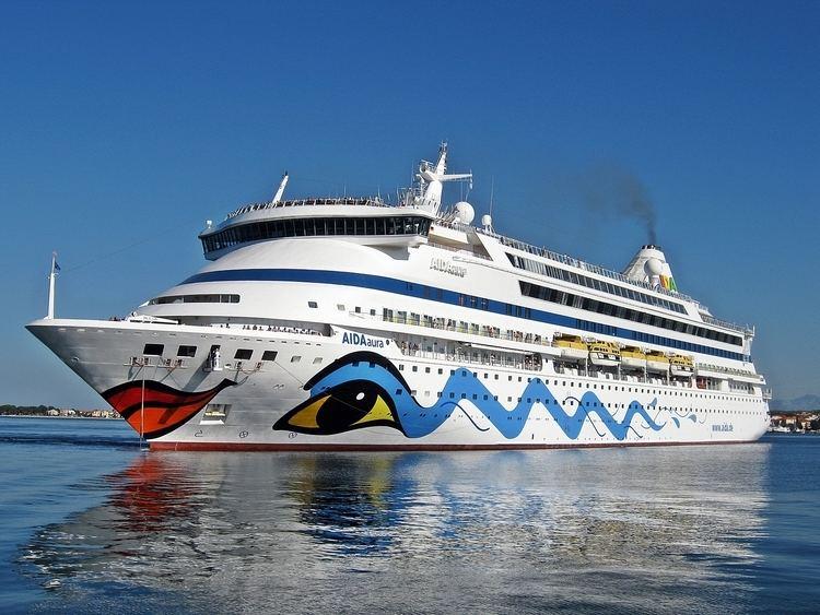 AIDAaura AIDAAURA 9221566 PASSENGERS SHIP MaritimeConnectorcom