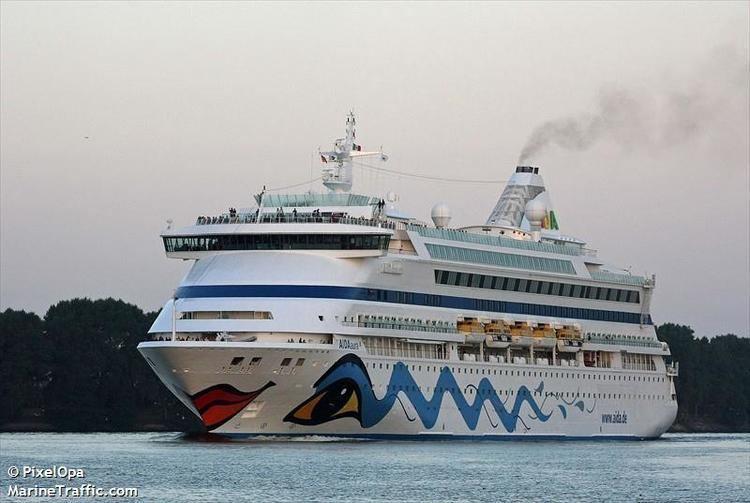AIDAaura Vessel details for AIDAAURA Passengers Ship IMO 9221566 MMSI