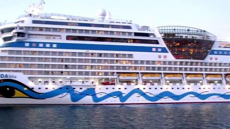 AIDAblu Cruise ship AIDAblu YouTube