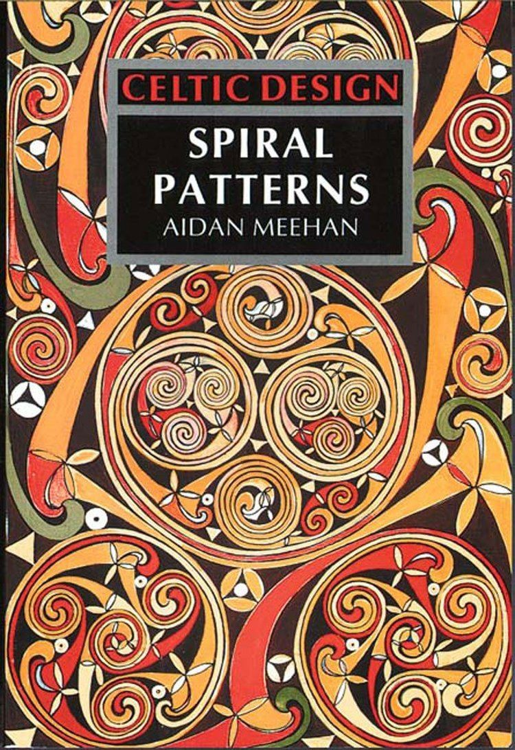 Aidan Meehan Celtic Design Spiral Patterns Amazoncouk Aidan Meehan