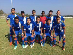 AIFF Elite Academy AIFF Elite Academy beat Sporting Goa in U18 ILeague