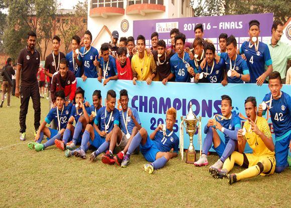 AIFF Elite Academy U3918 I League AIFF Elite Academy Emerge As Champions Xtratime