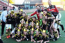 AIK Fotboll (women) httpsuploadwikimediaorgwikipediacommonsthu