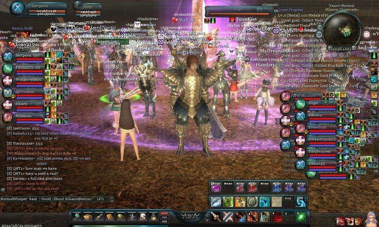 AIKA Online Aika Online Screenshots Anime MMORPGs