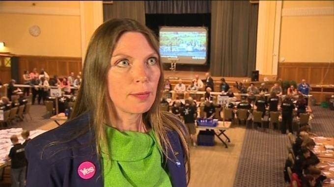 Aileen McLeod SNP39s Aileen McLeod praises political engagement Border
