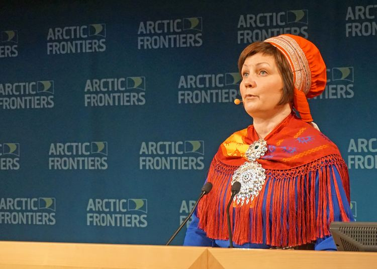 Aili Keskitalo Aili Keskitalo new president of the Sami Parliament The
