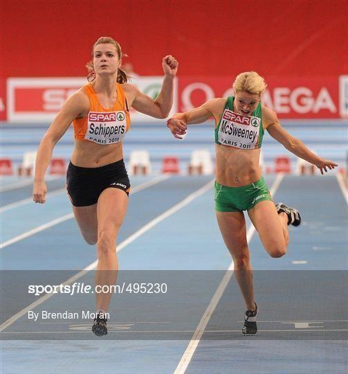 Ailis McSweeney Sportsfile European Indoor Athletics Championship