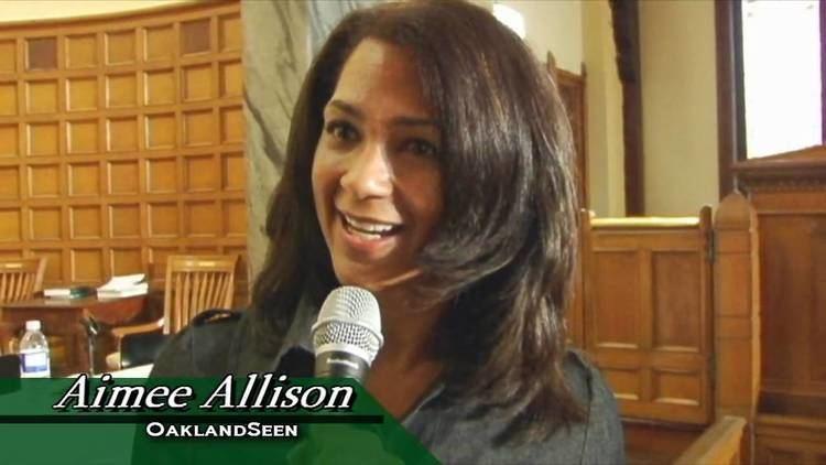Aimee Allison Aimee Allison OaklandSeen CoOrganizer of Oaklands first mayoral