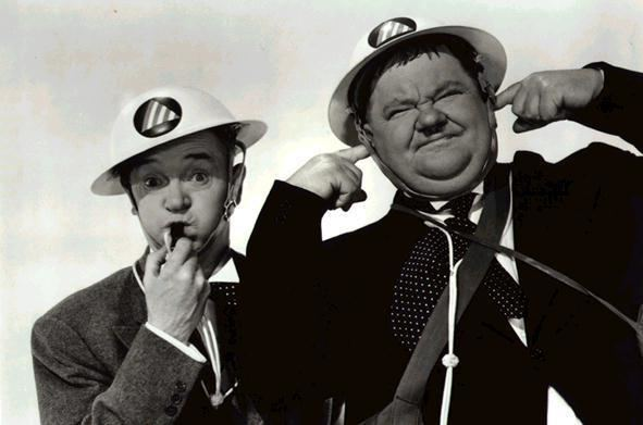 Air Raid Wardens and Hardy as Air Raid Wardens