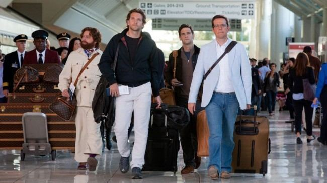 Airport (1993 film) movie scenes  luxury goods maker Louis Vuitton accused Warner Bros of ignoring its instructions not to use a fake handbag in an airport scene in the Hangover