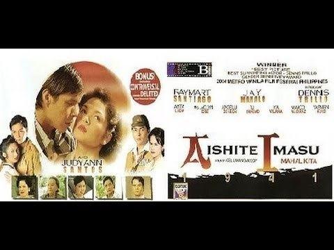 Aishite Imasu 1941: Mahal Kita movie scenes Aishite Imasu 1941 Mahal Kita 2004 THEATRiCAL TRAiLER