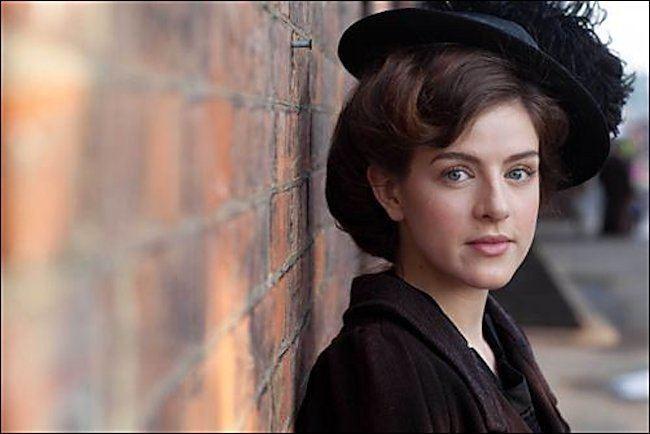 Aisling Loftus Who plays Agnes Towler in Mr Selfridge Aisling Loftus