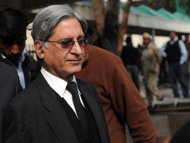 Aitzaz Ahsan Bahria Town case Aitizaz Ahsan pleads for deferment of hearing