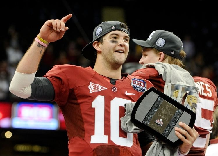 AJ McCarron AJ McCarron will conduct private workout for the Browns