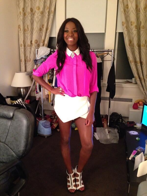 AJ Odudu Beauty and the Blogger Steal her style AJ Odudu