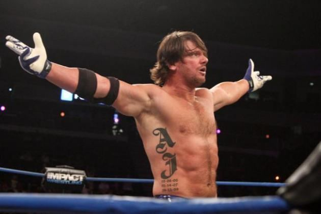A.J. Styles Report WWE Not Interested in TNA Star AJ Styles Bleacher Report