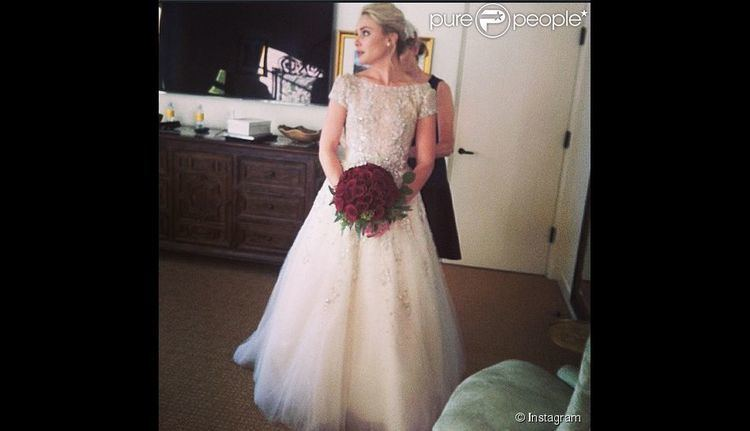 A.J. Trauth Leah Pipes The Originals Superb for her wedding with AJ Trauth