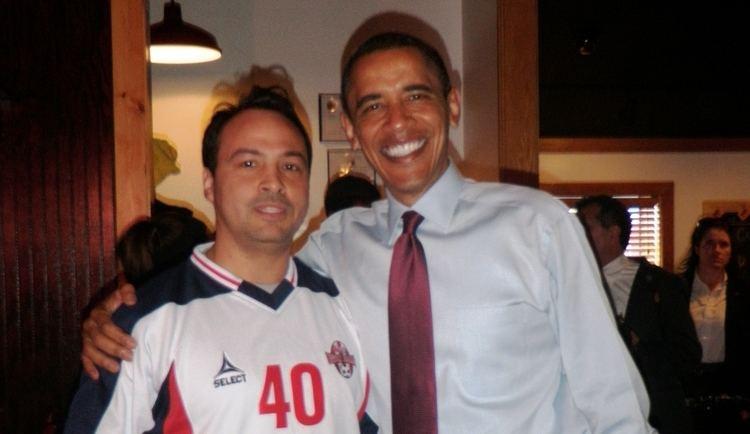 A.J. Verel FileAJ Verel Presdient Barack Obama 2JPG Wikimedia Commons