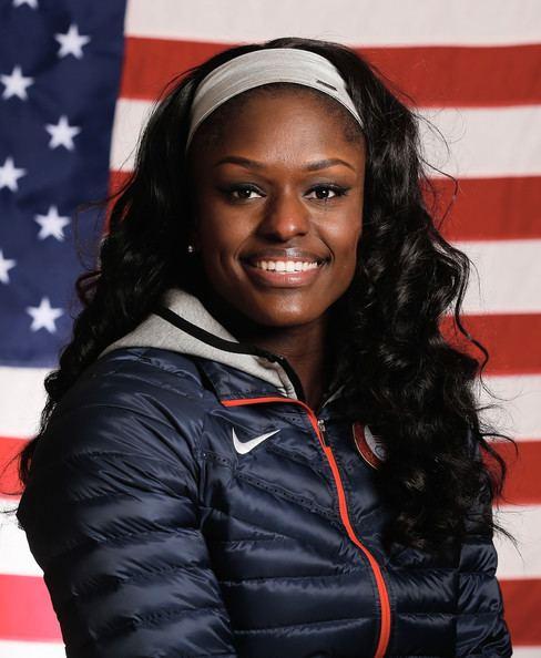 Aja Evans Aja Evans Photos Olympic Athletes Pose for Portraits