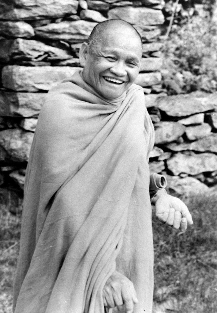 Ajahn Chah House of Inward Journey British Monk Honoured by Thai King