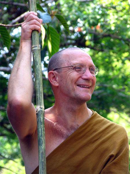 Ajahn Pasanno Tudong Pilgrimage in Thailand 4 Ajahn Pasanno