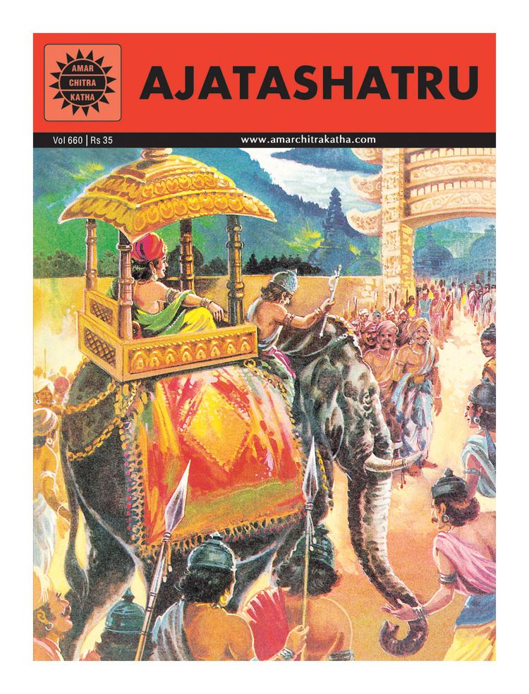 Ajatashatru Amar Chitra Katha Ajatashatru Online in India Buy at Best
