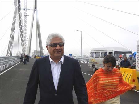 Ajit Gulabchand The businessman behind the Mumbai sea link Rediffcom