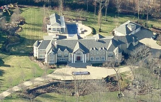A. J. Khubani Ajit Khubanis Saddle River Mansion Homes of the Rich